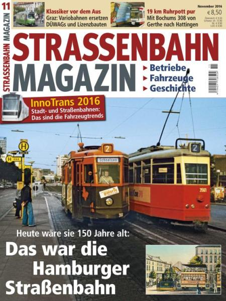 : Strassenbahn Magazin - November 2016