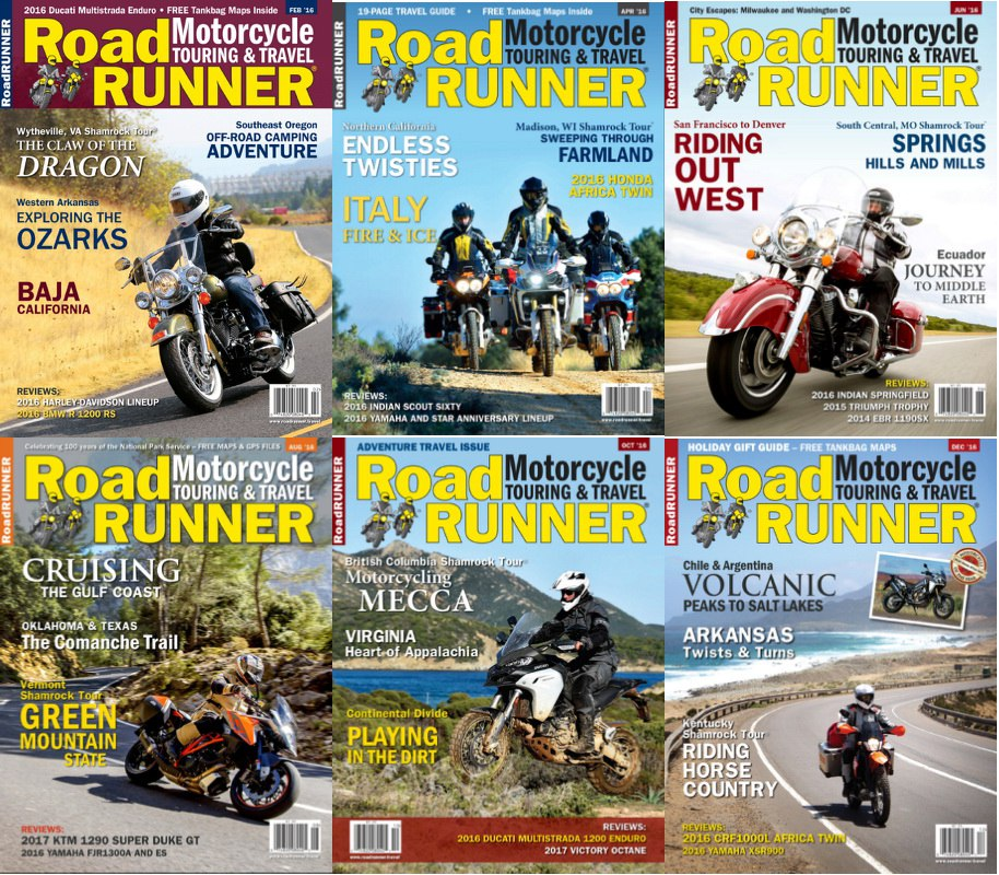 : RoadRunner - 2016 Full Year Issues Collection