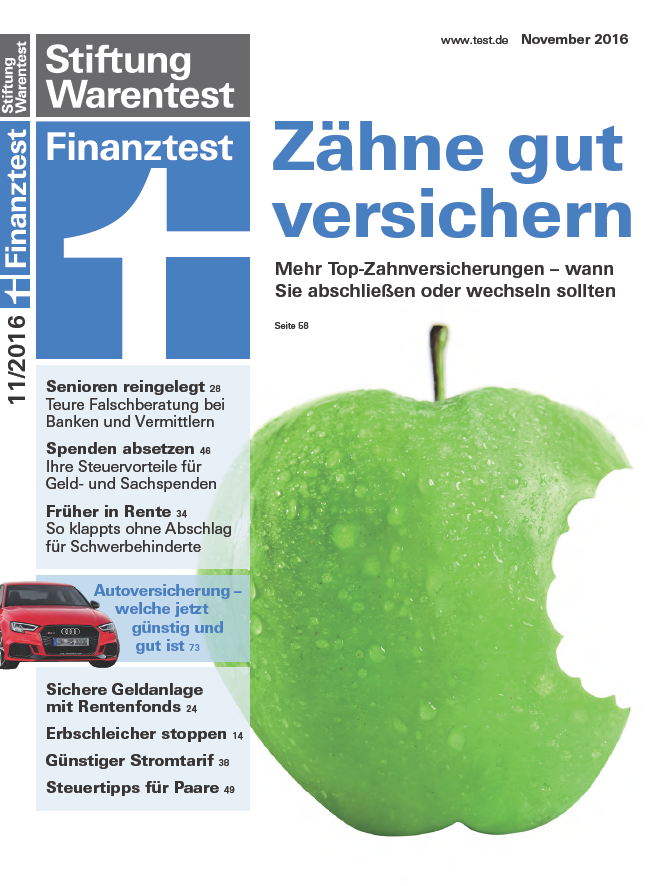 : Finanztest No 11 - November 2016