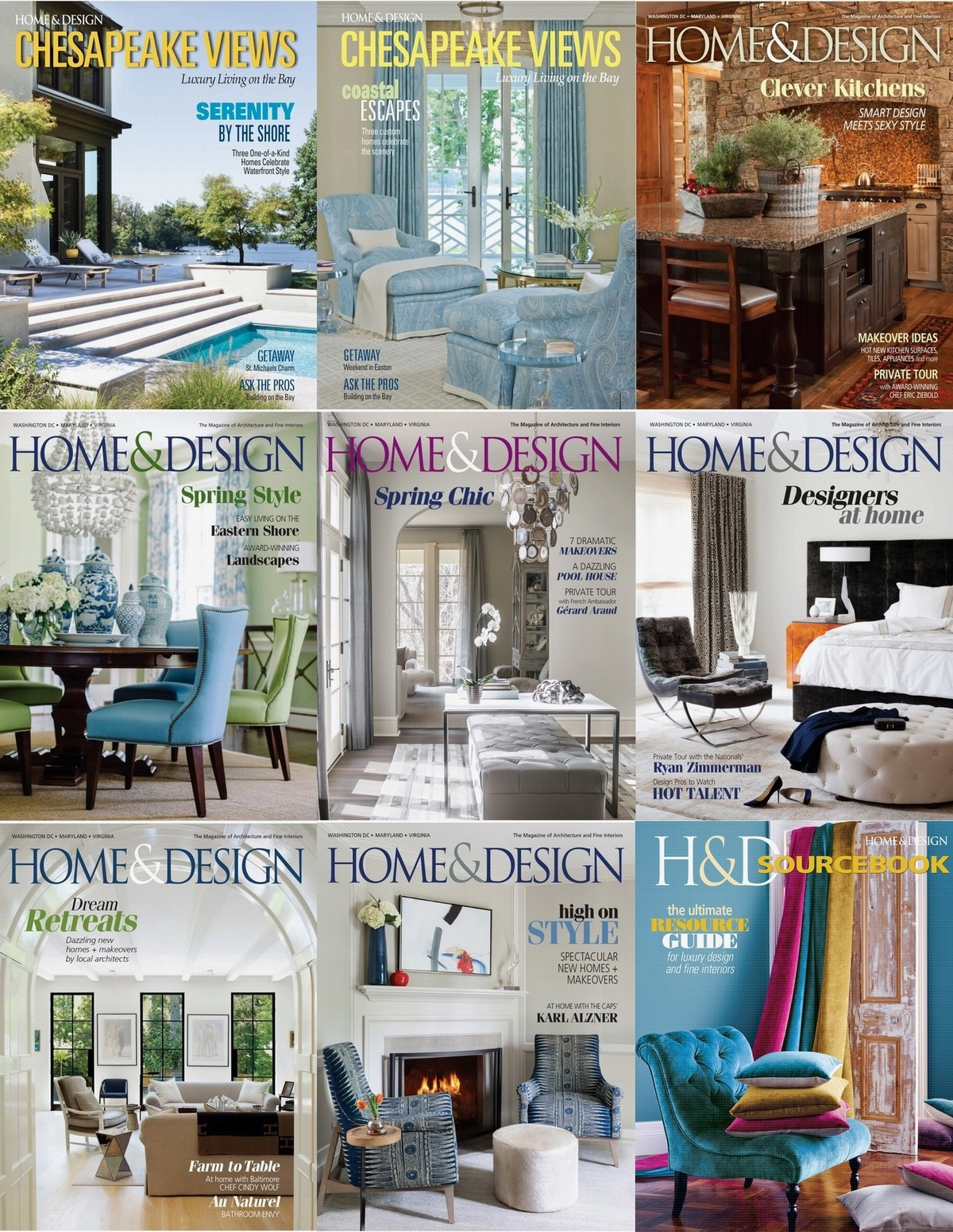 : Home Design - 2016 Full Year Issues Collection