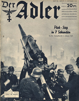 : Der Adler No20 14 November 1939