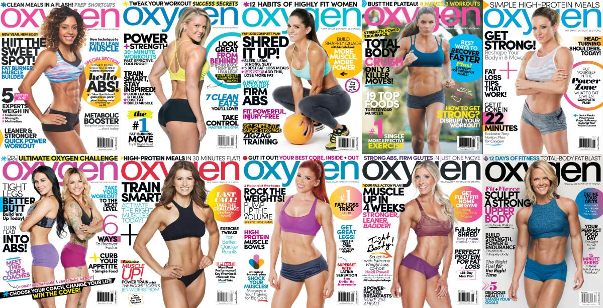 : Oxygen Usa - 2016 Full Year Issues Collection