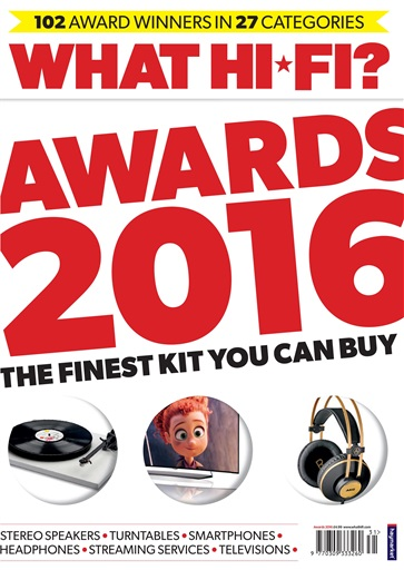 : What Hi-Fi Uk - Awards 2016