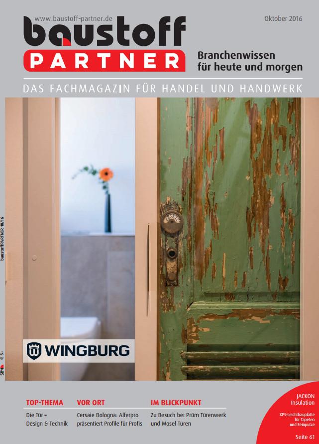 : Baustoff Partner - October 2016