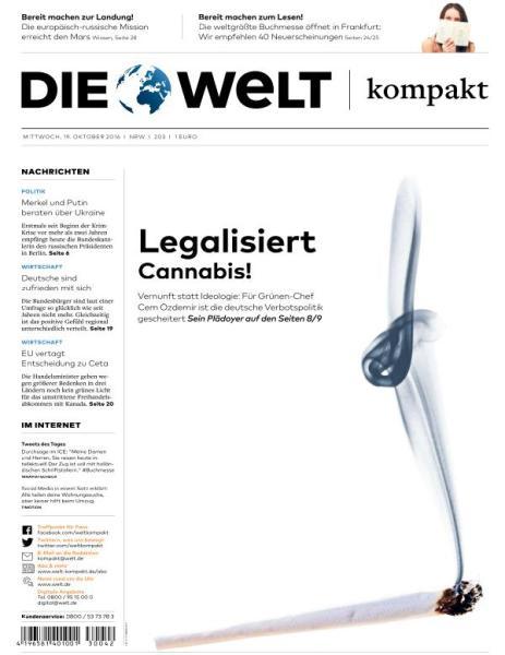 : Die Welt Kompakt - 19 Oktober 2016