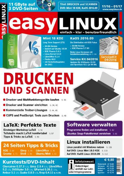 : EasyLinux - November 2016 - Januar 2017