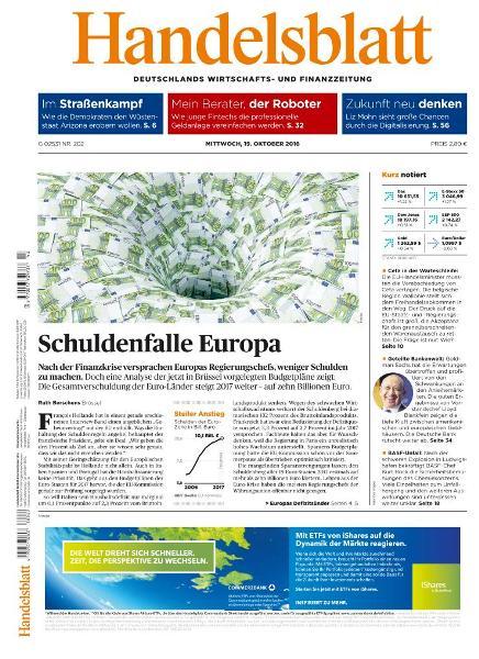 : Handelsblatt - 19 Oktober 2016