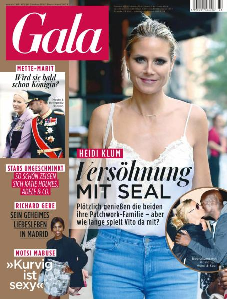: Gala Germany - 20 Oktober 2016