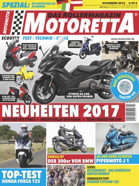: Motoretta - November 2016