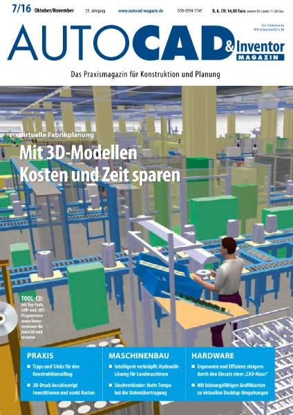 : Autocad and Inventor Magazin - Oktober-November 2016