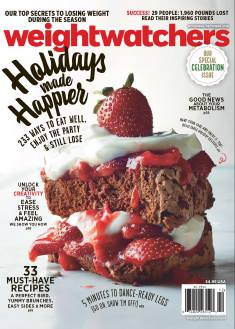 : Weight Watchers Usa - November - December 2016