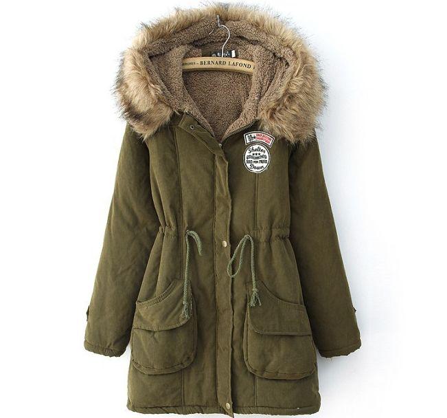 damen winterjacke jacke kurzmantel mantel mit kapuze 34 46 viele farben bc309 ebay. Black Bedroom Furniture Sets. Home Design Ideas