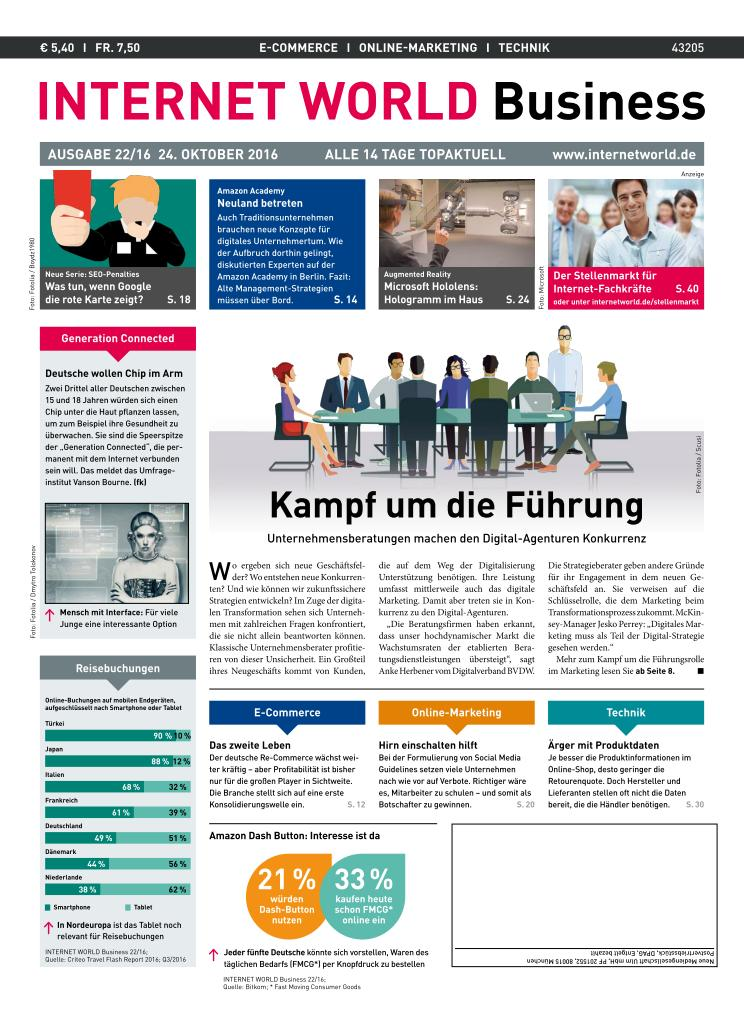 Internet World Business - 24 Oktober 2016