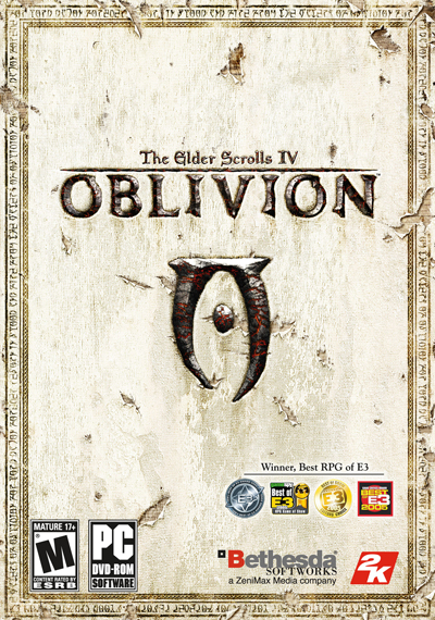 The Elder Scrolls 4: Oblivion Deutsche  Texte, Untertitel, Menüs, Videos, Stimmen / Sprachausgabe Cover