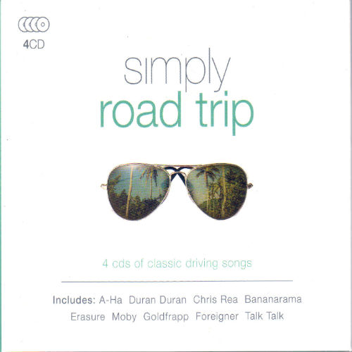 Simply Road Trip (4CD, 2016)