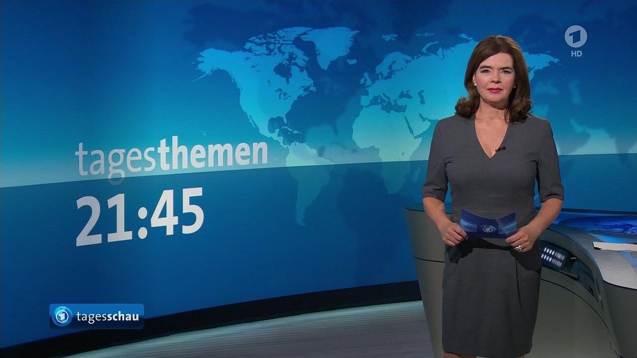 """Susanne daubner @ """"tagesschau"""" am 25.10.2016   bilder bei mirror ..."""