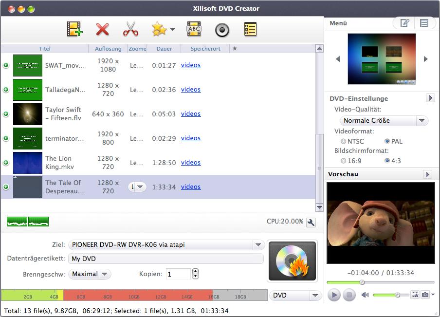 download Xilisoft.DVD.Creator.v7.1.5.MACOSX.Incl.Keygen-AMPED