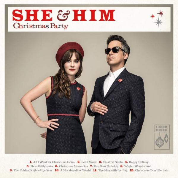 She & Him - Christmas Party (2016)