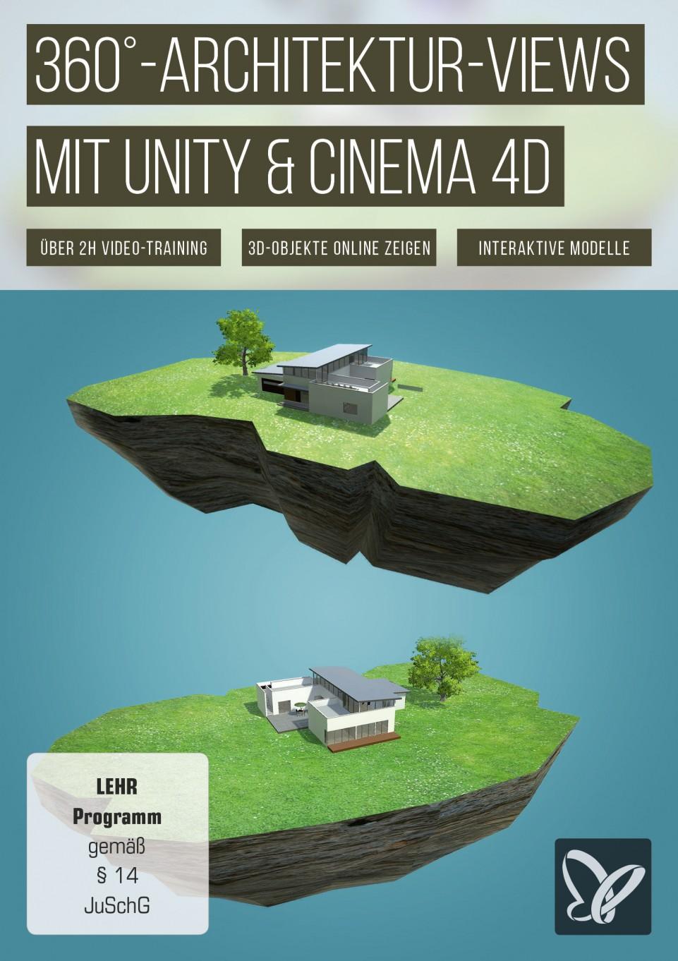 download PSD.Tutorials.360.Grad.Architektur.Views.mit.Unity.und.Cinema4D.German-BLZiSO