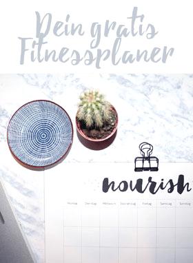 fitness planer printable
