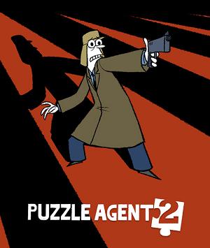 Puzzle Agent 2 Deutsche  Texte, Untertitel, Menüs Cover
