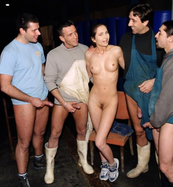 Patricia Diamond - Gets a Gangbang For Her Eighteenth Birthday Cover