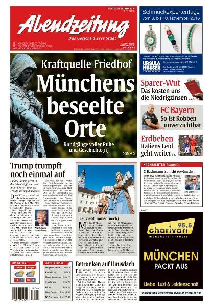 Abendzeitung Muenchen - 31 Oktober 2016