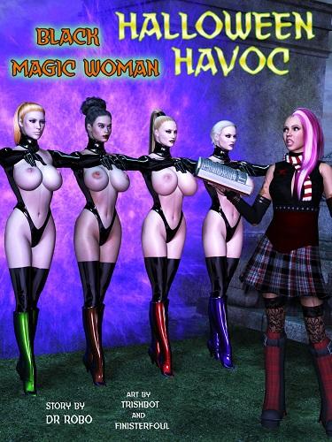 Halloween Havoc - Black Magic Woman 3-4