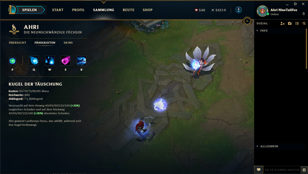 how to change skin alpha client league