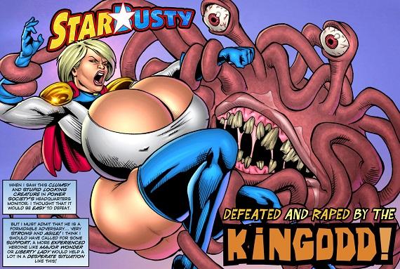 SuperHeroine ComiXXX - StarBusty - Kingodd!