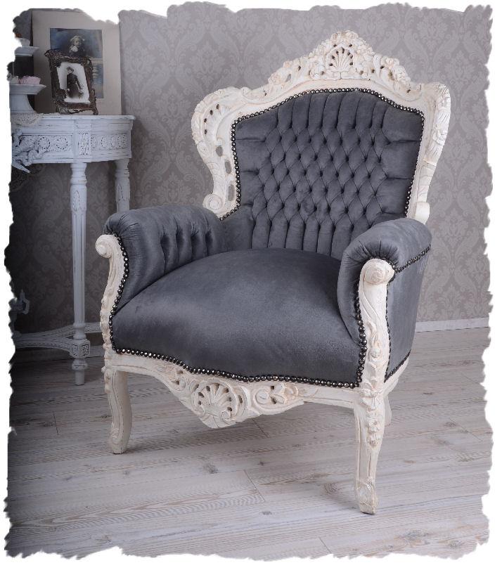sessel vintage grau williamflooring. Black Bedroom Furniture Sets. Home Design Ideas