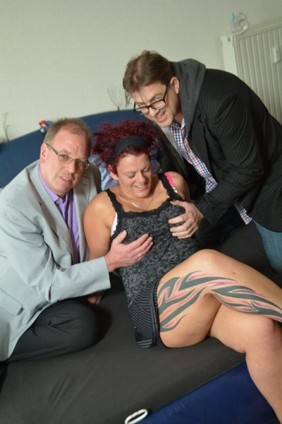 Lea Luestern aka Ira K. - Redheaded Mature Bitch Ira K Likes The Taste of Spunky Cock