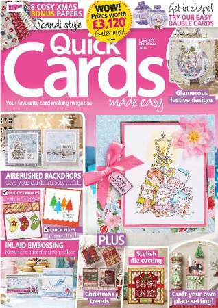 Quick Cards Made Easy №159 2016