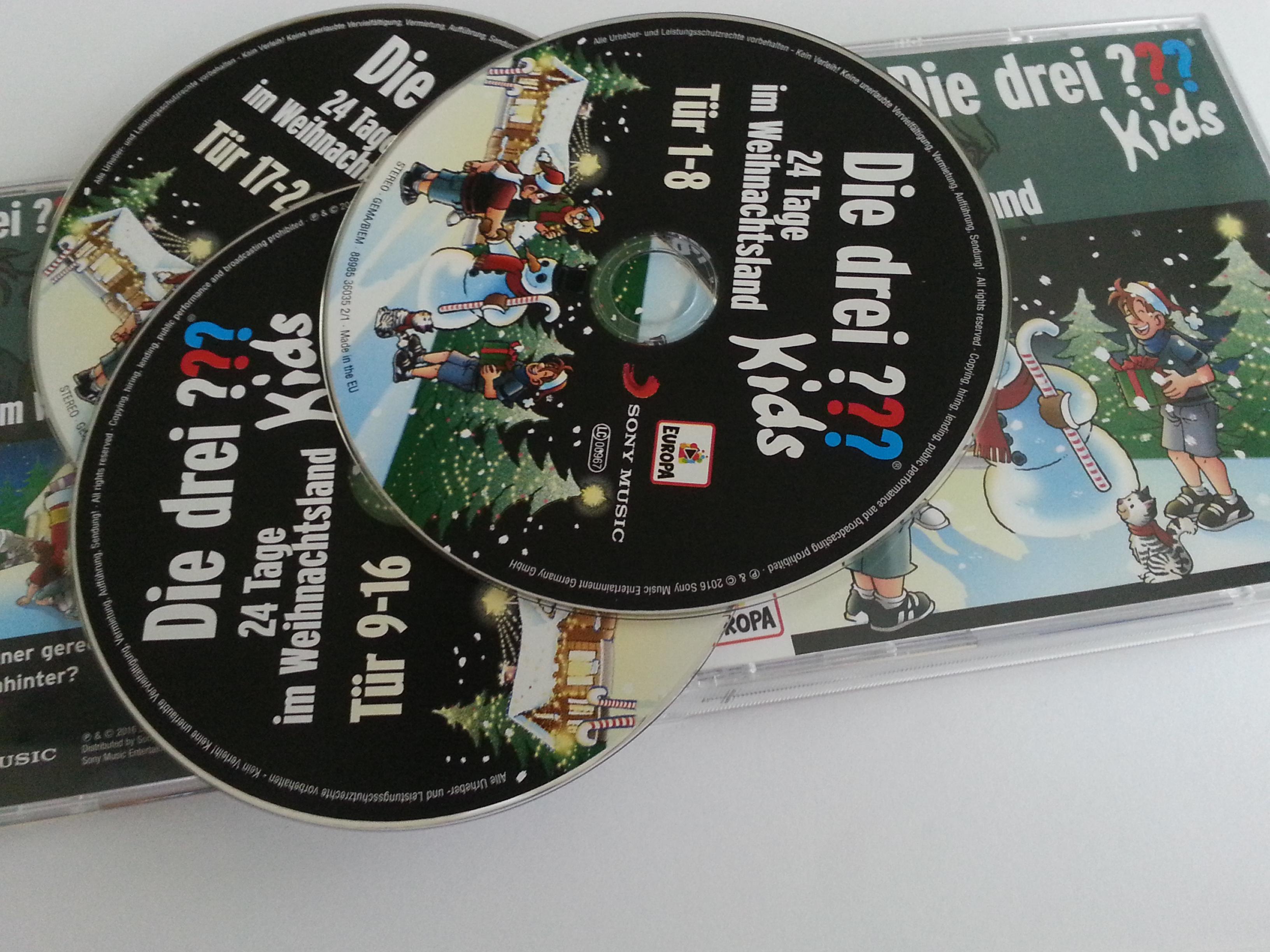 Die Drei Fragezeichen Kids-24 Tage Im Weihnachtsland-VoiCe