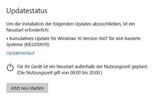 eigenständiges windows update programm