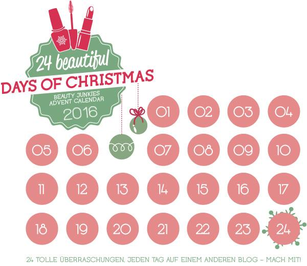 Ankuendigung Beauty Junkies Blogger Adventskalender 2016 Teilnehmer
