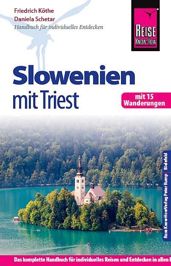 Reisehandbuch - Slowenien mit Triest