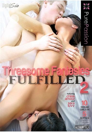 Threesome Fantasies Fulfilled 2  Cover
