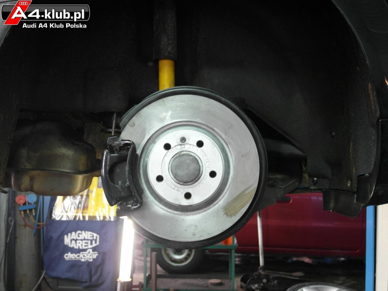 Upgrade Hamulców W Naszych A4 A4 B6b7 Audi A4 Klub Polska