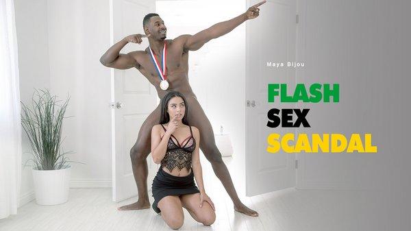 Maya Bijou - Flash Sex Scandal 22.11.2016