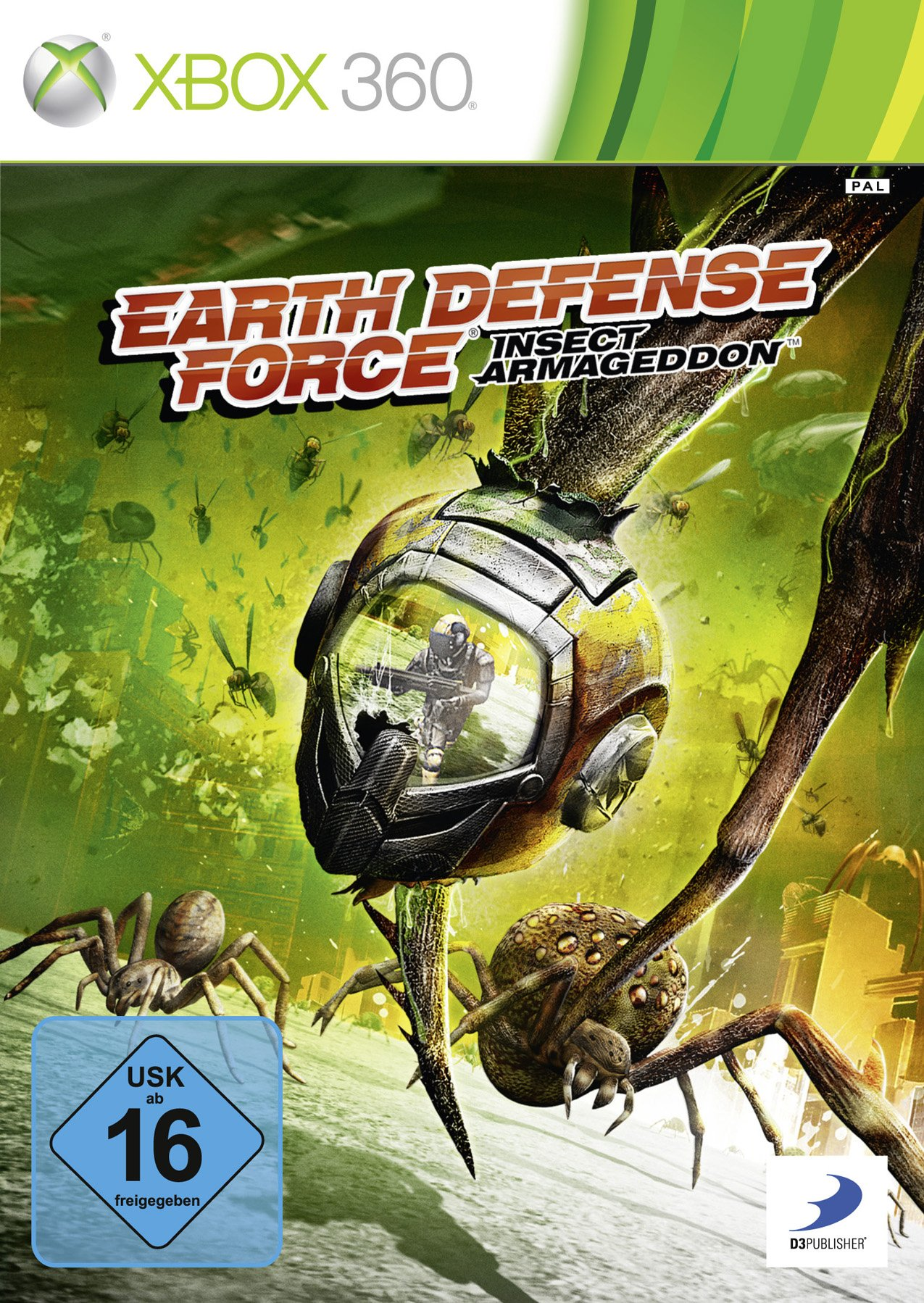 Earth Defense Force Insect Armageddon Ntsc Xbox360-Complex