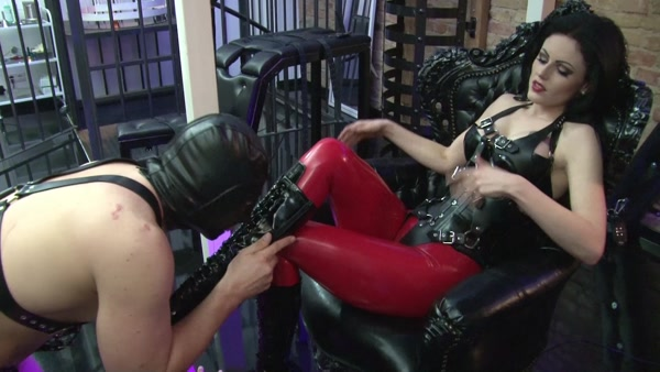 Mistress Blackdiamoond - Boot fuck and piss 1080p Cover