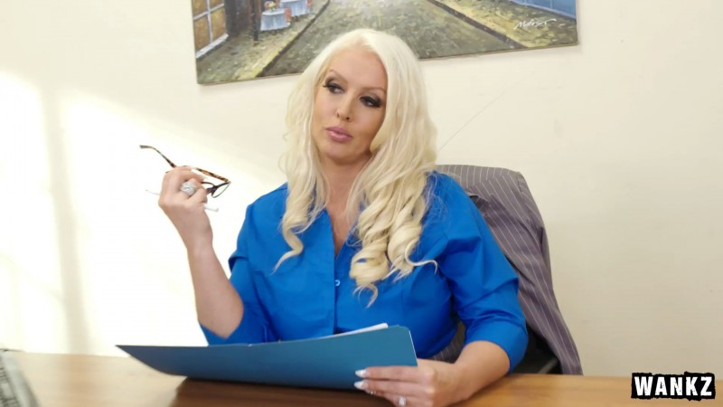 Alura Jenson - Aggressive MILF Has Her Way with Nervous Employee