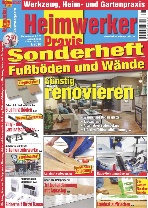 Heimwerker Praxis Sonderheft Nr 01 2016