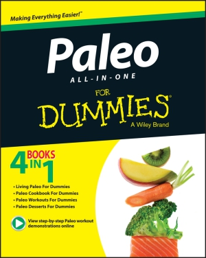 Cover: Paleo all-in-one for Dummies