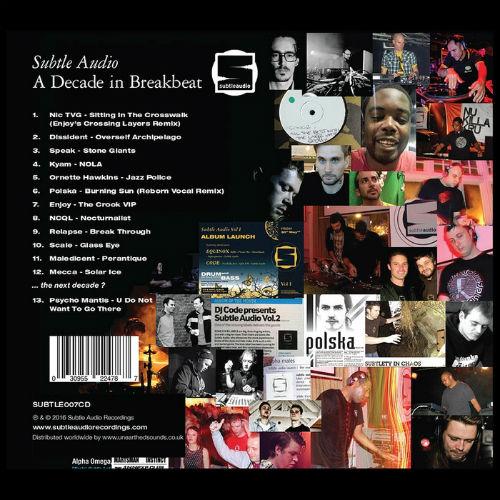 Subtle Audio: A Decade In Breakbeat (2016)