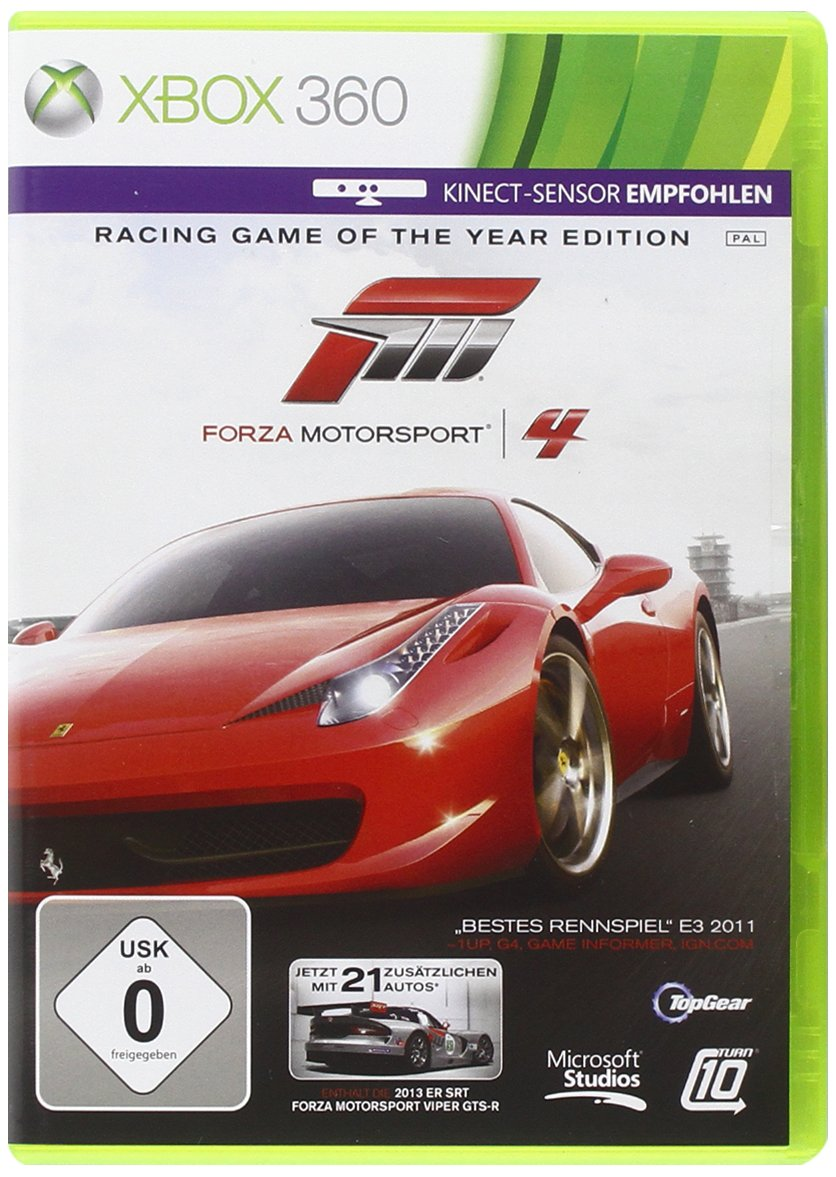 Forza Motorsport 4 Pal Xbox360-Complex