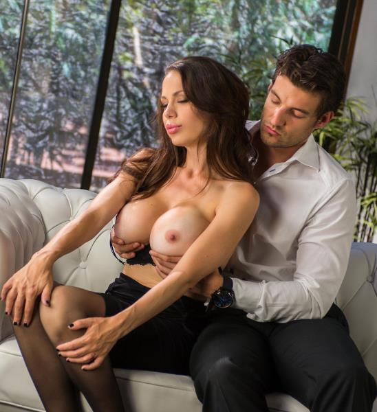 McKenzie Lee - He Cant Resist - Busty Milf Loves Cum On Her Big Tits 2160p Cover