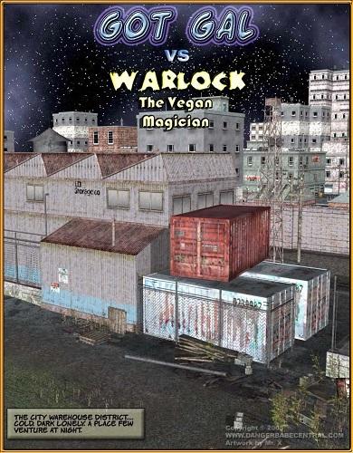 DBC - Got Gal vs Warlock - The Vegan Magician