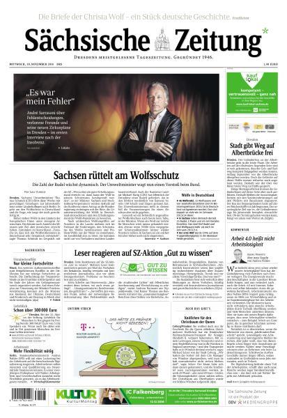 Saechsische Zeitung Dresden 30 November 2016